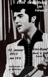 Elvis Geburtstag im Forum 2