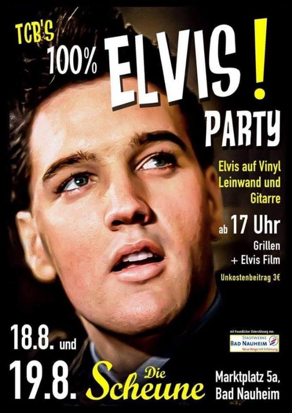 Elvis Party 100% Vinyl!
