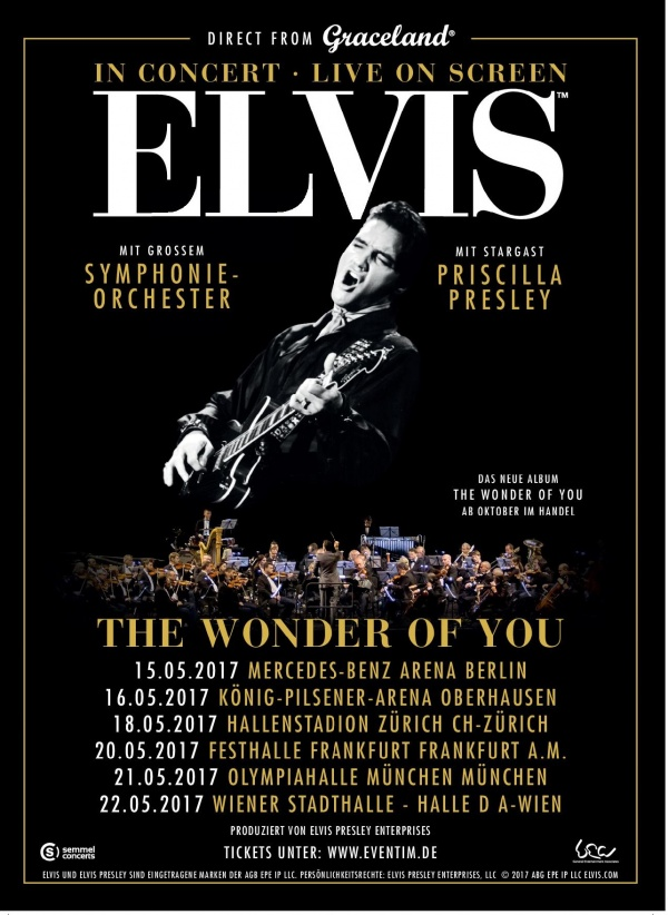 In Concert - Live On Screen: Elvis - The Wonder Of You