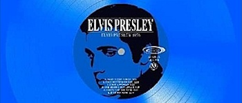 Elvis Presley - Blue Octagonal Shaped VI