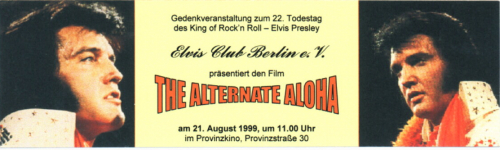 21.08.1999 - The Alternate Aloha