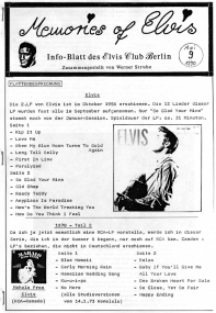 Memories Of Elvis - Nr. 9