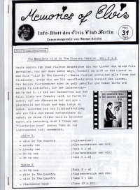 Memories Of Elvis - Nr. 31