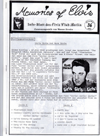 Memories Of Elvis - Nr. 36