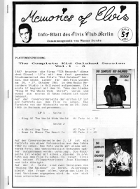 Memories Of Elvis - Nr. 51
