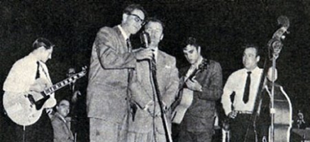 Scotty Moore - Bill Randle - Tommy Edwards - Elvis - Bill Black