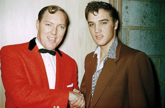 Bill Haley & Elvis (1955)