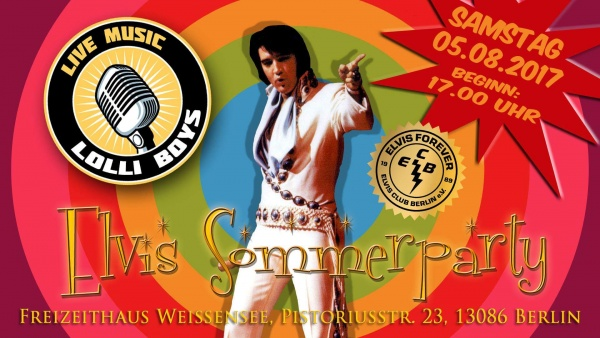 Elvis Sommerparty 2017