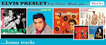 Elvis Presley - Four Classic Albums Plus ... (Third Set) Bonus Tracks