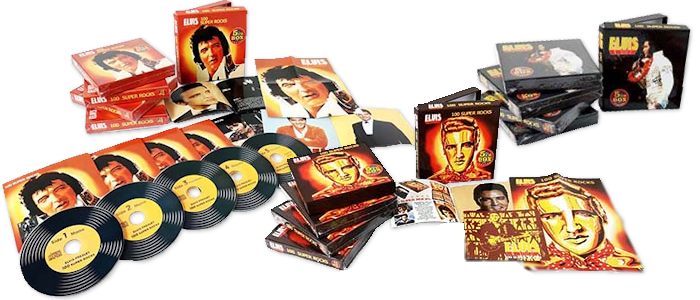 Elvis - 100 Super Rocks (5 CD-Box)