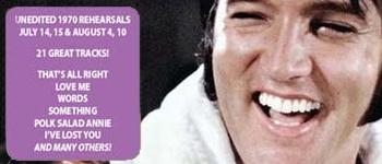 Elvis - Juli / August 1970: The Rehearsals - Volume II