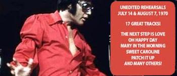Elvis - Juli / August 1970: The Rehearsals - Volume I
