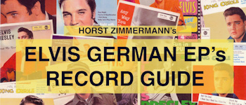 Elvis German EP´s Record Guide