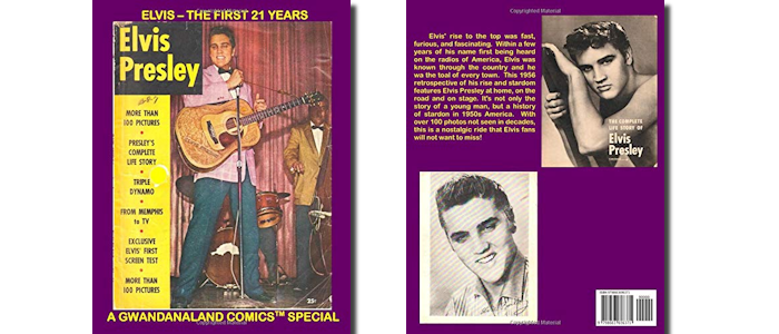 Elvis - The First 21 Years: A 1956 Reptrospective On The Early Life And Rise To Fame Of Elvis