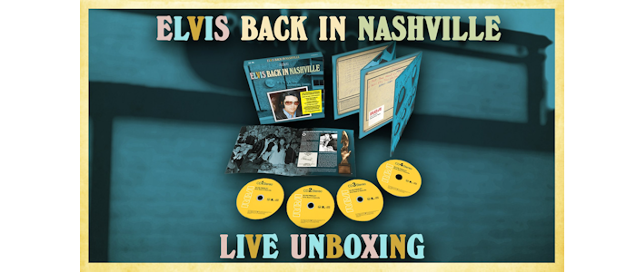 Elvis - Special Listening Session and Live Unboxing Taping