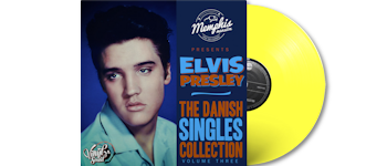 Elvis Presley - The Danish Singles Collection: Volume 3 (gelb)